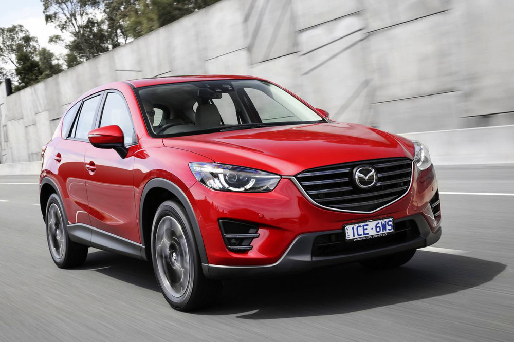 Mazda CX-5 is a superb entrant - but there are no seven seat versions available. Plus the warranty is shorter and there's a space-saver spare tyre.