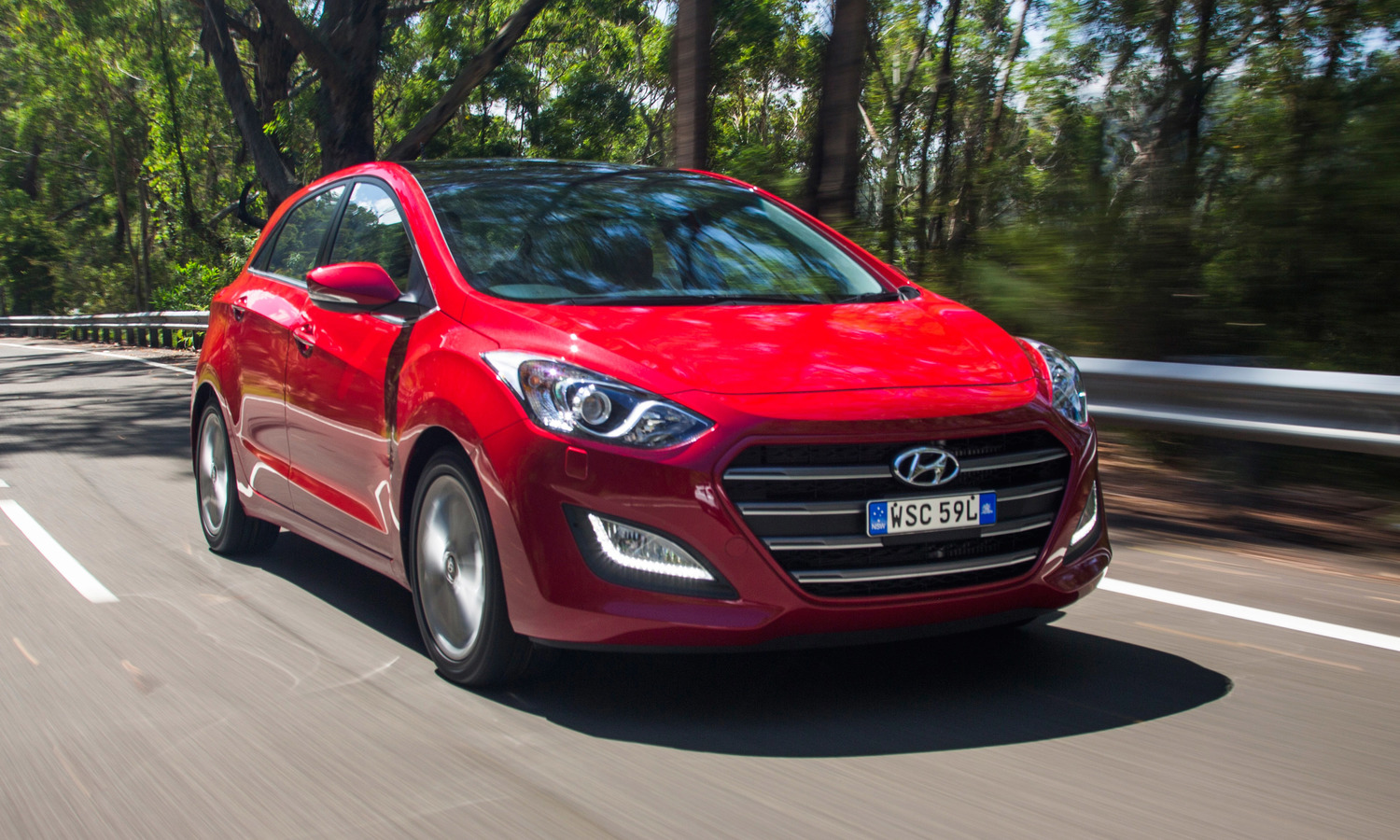 Hyundai i30 - the 'other small car in the top three.
