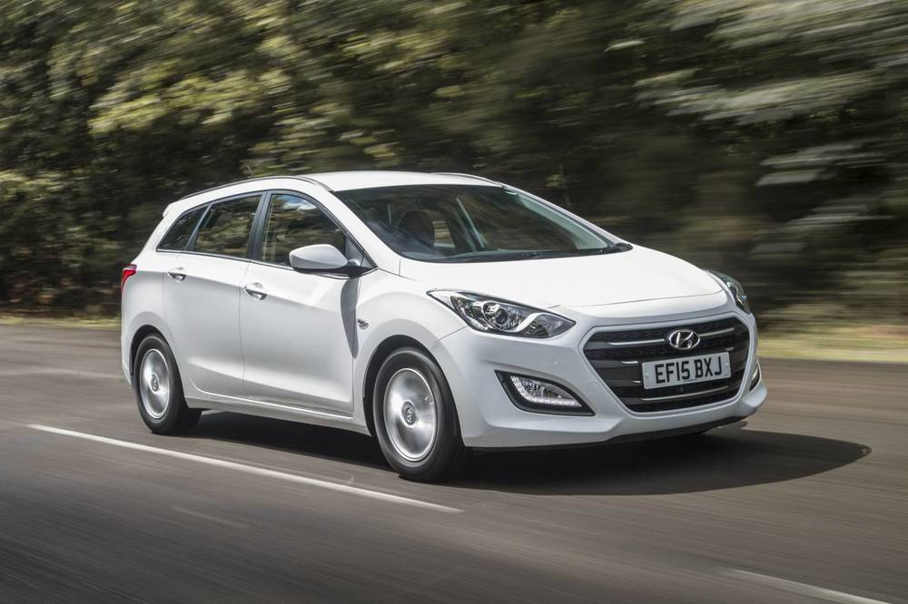 Hyundai i30 wagon. Correction: 'Tourer'...