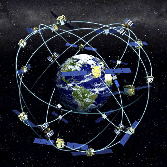 The Navstar Satellite Constellation