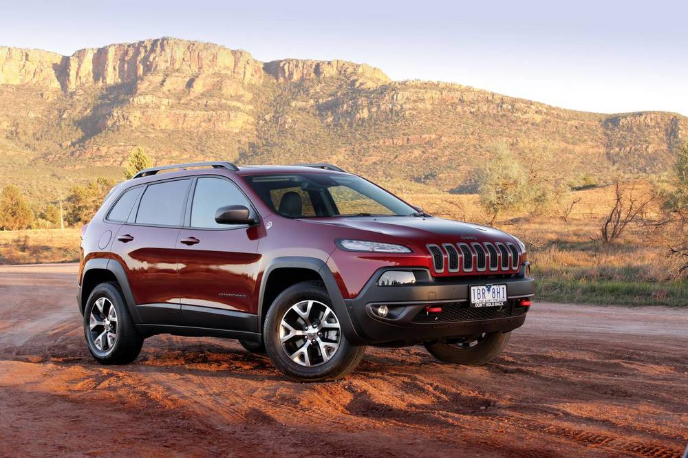 Jeep Cherokee Trailhawk certainly has the off-road goods