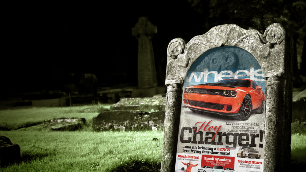 are car magazines dead