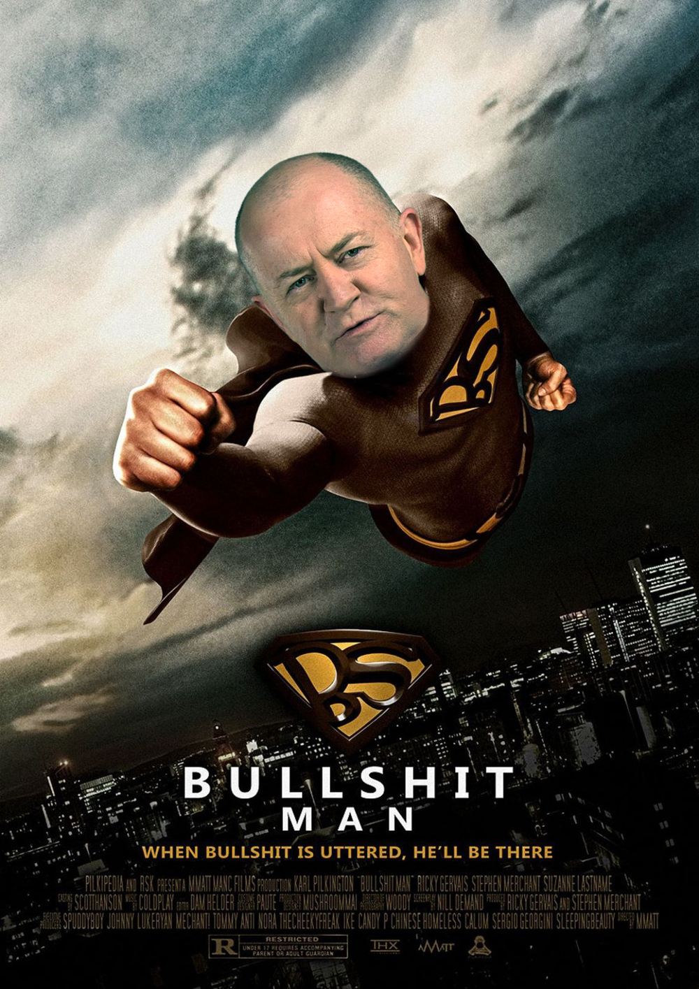 Reporter, or Bullshitman? You decide...