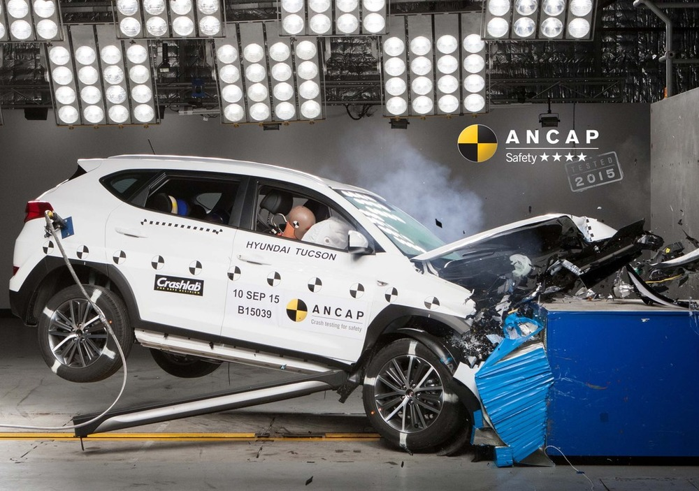 Hyundai Tucson Crash Test Shocker - four stars for the otherwise brilliant new SUV makes it, unfortunately, a poor choice - for now