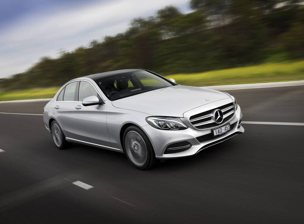 Mercedes-Benz C-Class: developing quite the reputation as a stylish, upmarket and elegant heap of crap