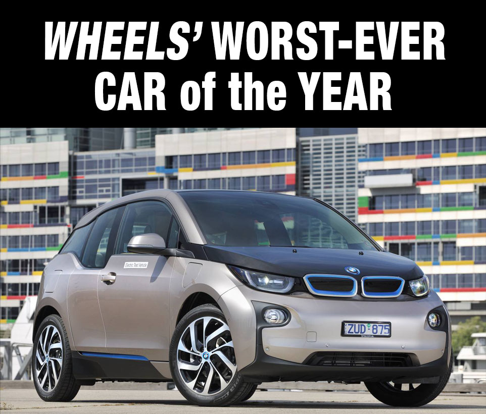 Wheels magazine put the final nail in it's 'laughing stock'-shaped coffin (in my view, and that of many others I can't name) when is awarded this absurd, four-star rated safety shitbox its car of the year 12 months ago...