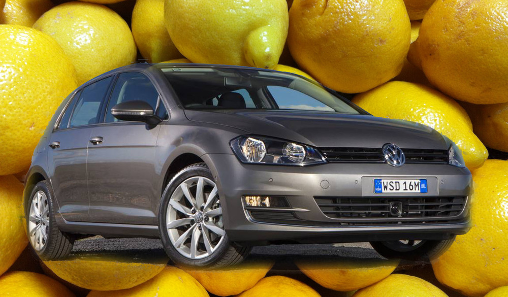 My Volkswagen Golf is a lemon
