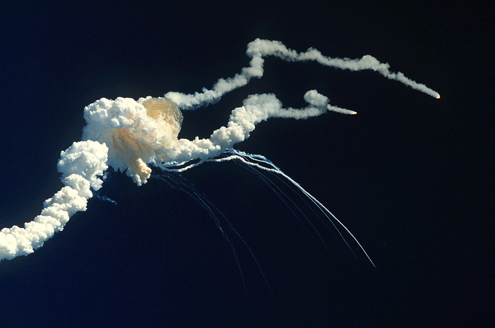 The Space Shuttle Challenger proved there's no 100% benign transport system on 28 January 1986