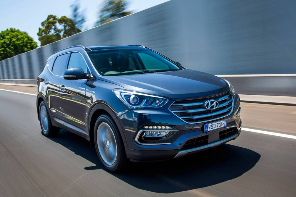 suv motor reviews and steering santa sport rating hyundai trend cars fe wheel