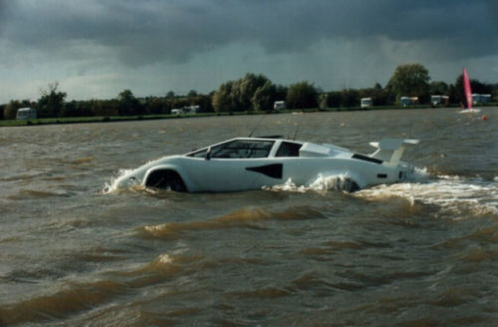 On Q: Amphibious Fake Lamborghini for a Fake James Bond?