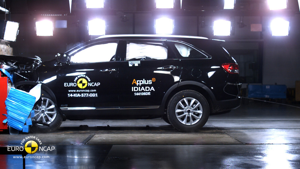 Kia Sorento is independently verified as extremely safe