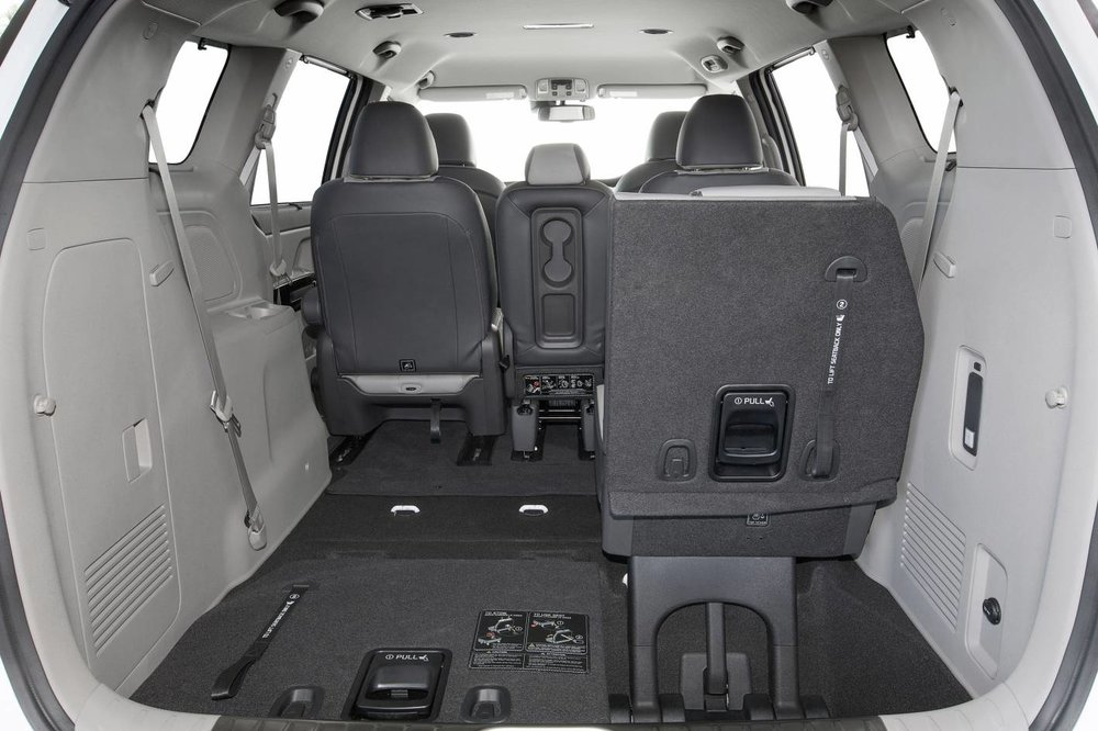 Kia Carnival has extremely impressive seating and loadspace versatility