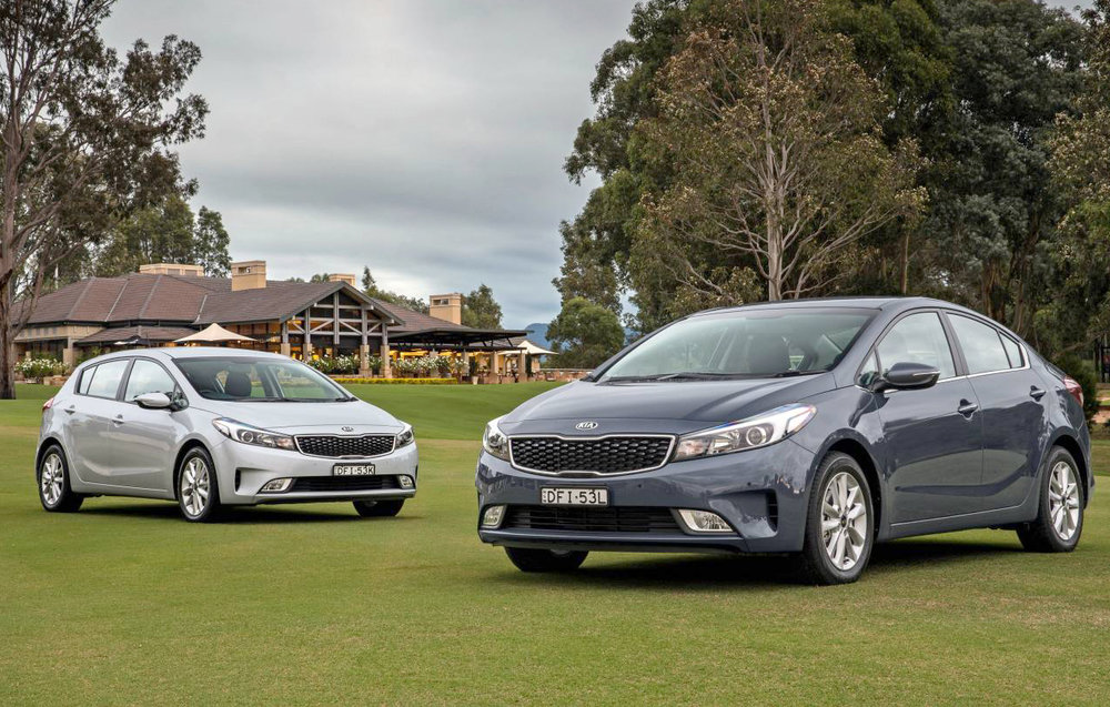 Kia Cerato Hatch and Sedan