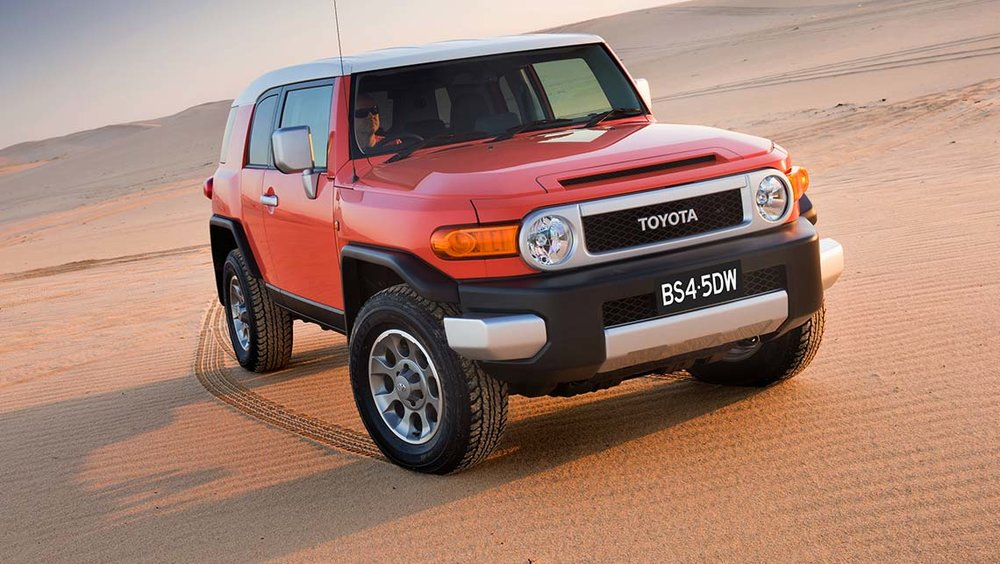 Tonka-Toy left-field option: Toyota FJ Cruiser