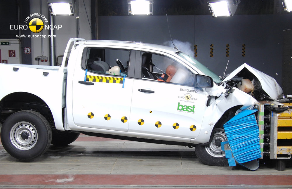 The Mazda BT-50 ute scored 35.72 out of a possible 37 points when crash tested by Euro NCAP in 2011