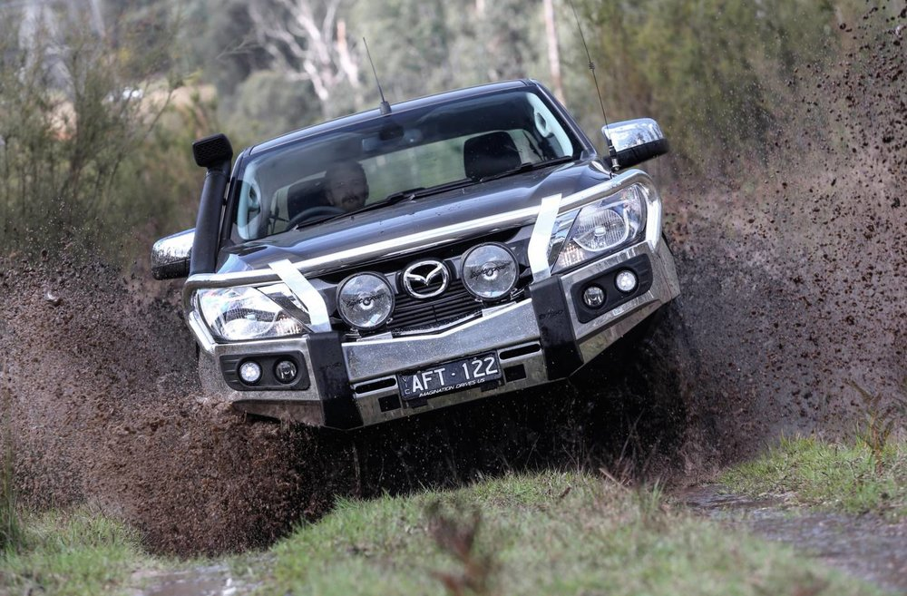Mazda BT-50 4WD will go further off road than most owners will ever demand of it. In other words - the limiting factor is likely to be the off-road ability of the driver in most cases