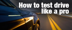How to test drive