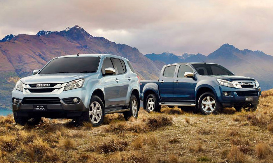 Isuzu MU-X and D-MAX
