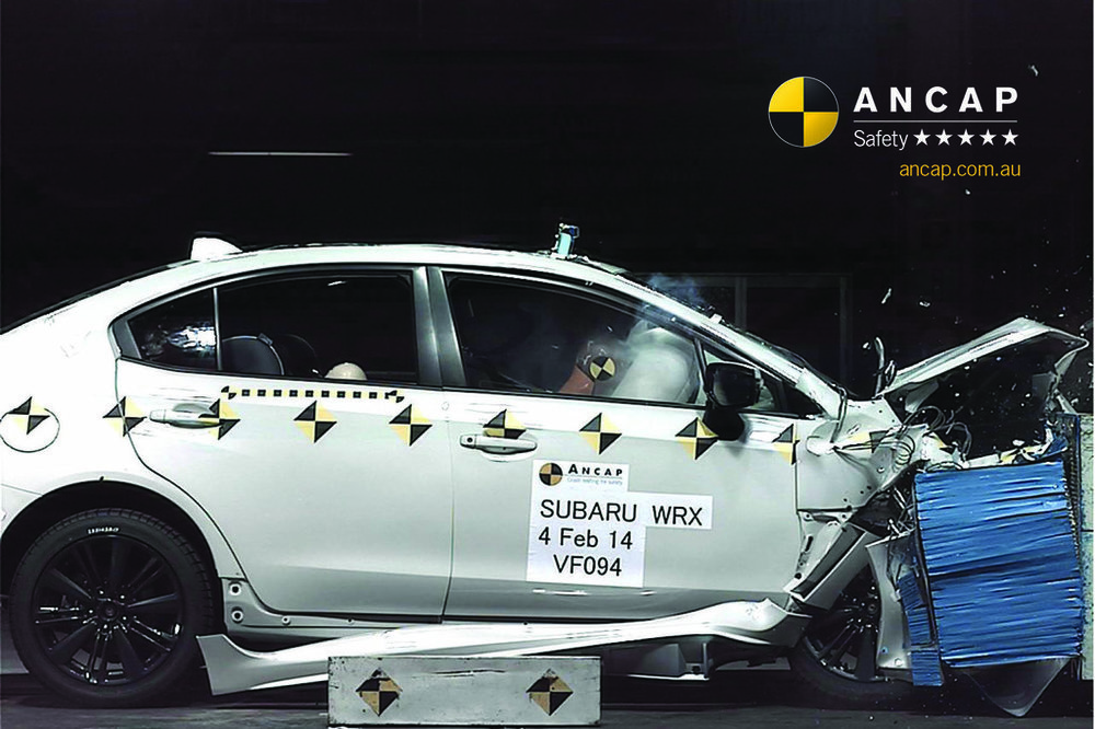 WRX & WRX STI are very safe, earning 35.85 out of a possible 37.00 points in the stringent independent ANCAP crash testing protocols