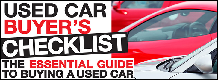 Don't get ripped off - click here for John Cadogan's essential Used Car Checklist!
