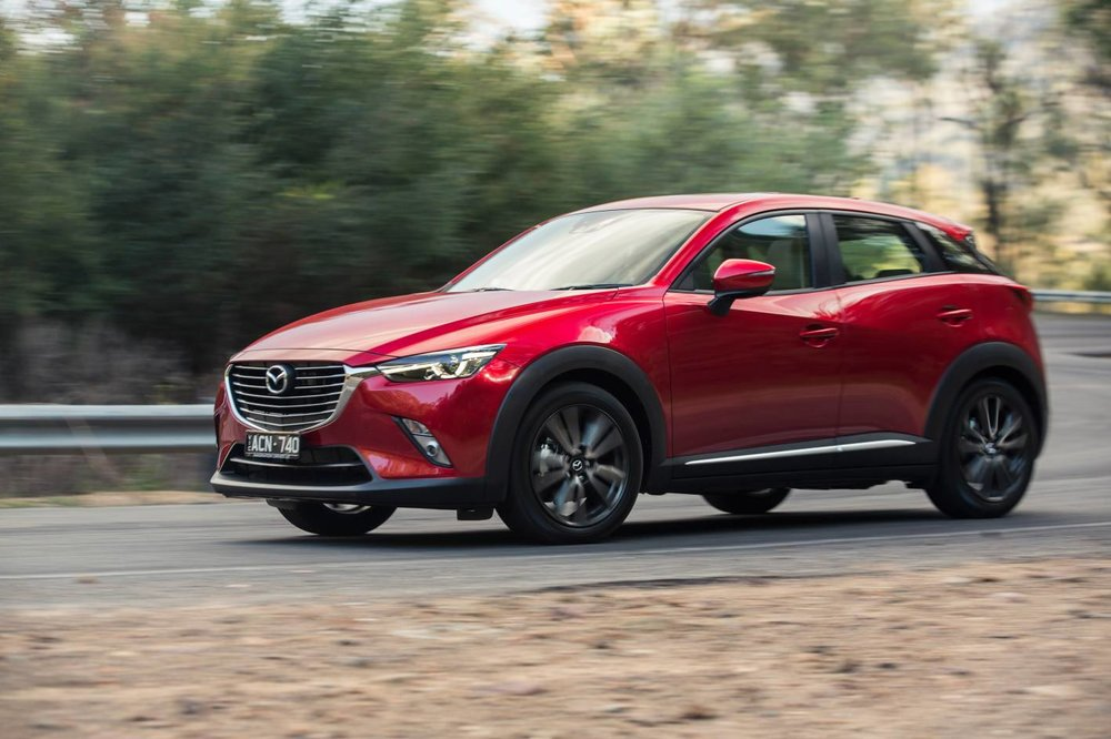Mazda CX-3 is one very sexy looking small SUV - there's no doubt, cosmetically, it's a real winner