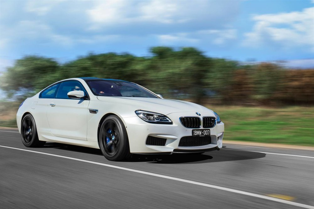 Acceleration drops away as speed increases - even in a car like the BMW M6