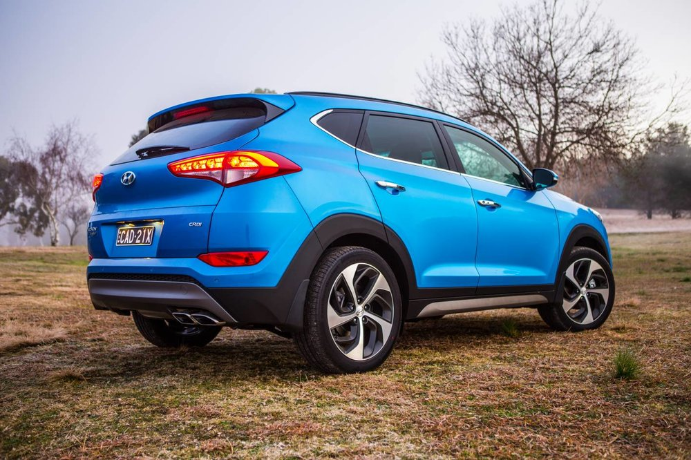Hyundai Tucson Highlander has a cracking 2.0-litre diesel engine