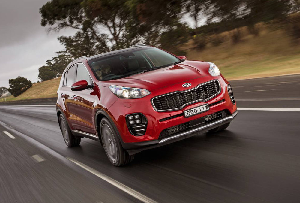Kia Sportage - same diesel as Tucson; different face