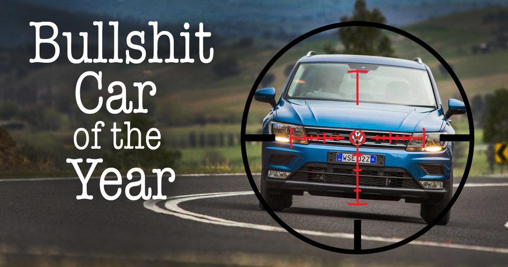 Bullshit Car Of The Year Auto Expert By John Cadogan