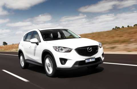 Don't get me wrong - I rate the CX-5. It's a great SUV, but also a 'watching the grass grow' proposition against an engaging performance car like the Levorg ... and both are family-friendly