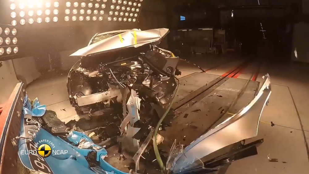 Offset frontal crash tests are very severe impacts