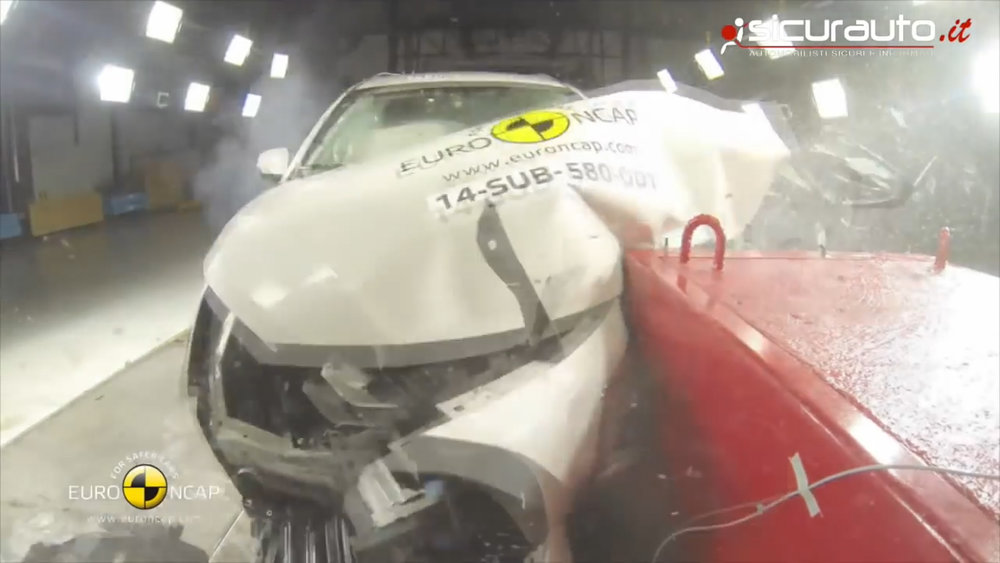 Severe crash tests in the lab mean more survival out there on the road