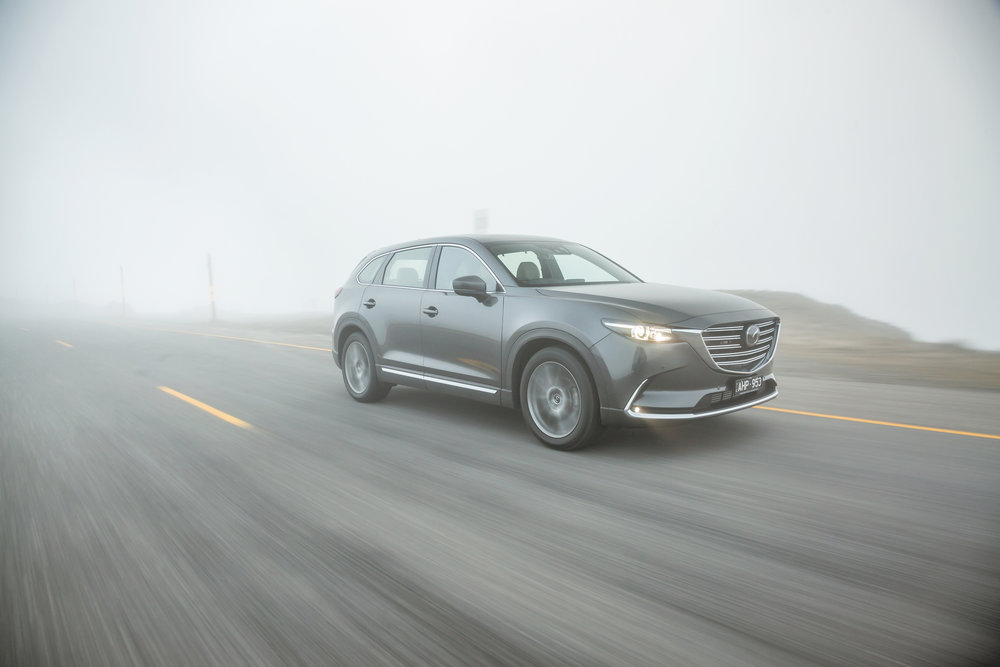 Mazda CX-9 has extremely limited adventuring potential
