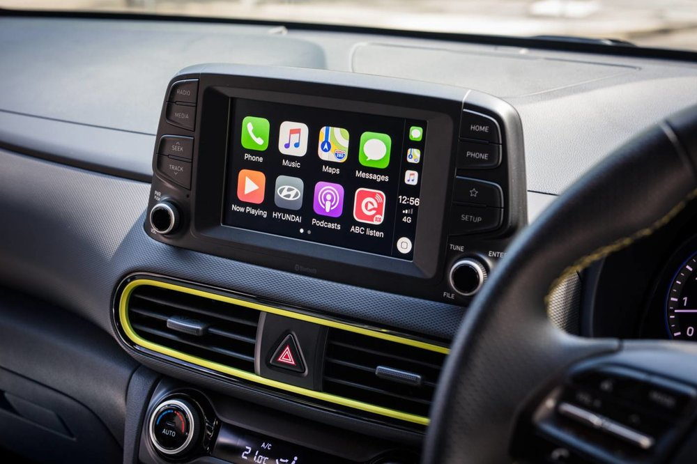 Apple CarPlay and Android Auto are standard