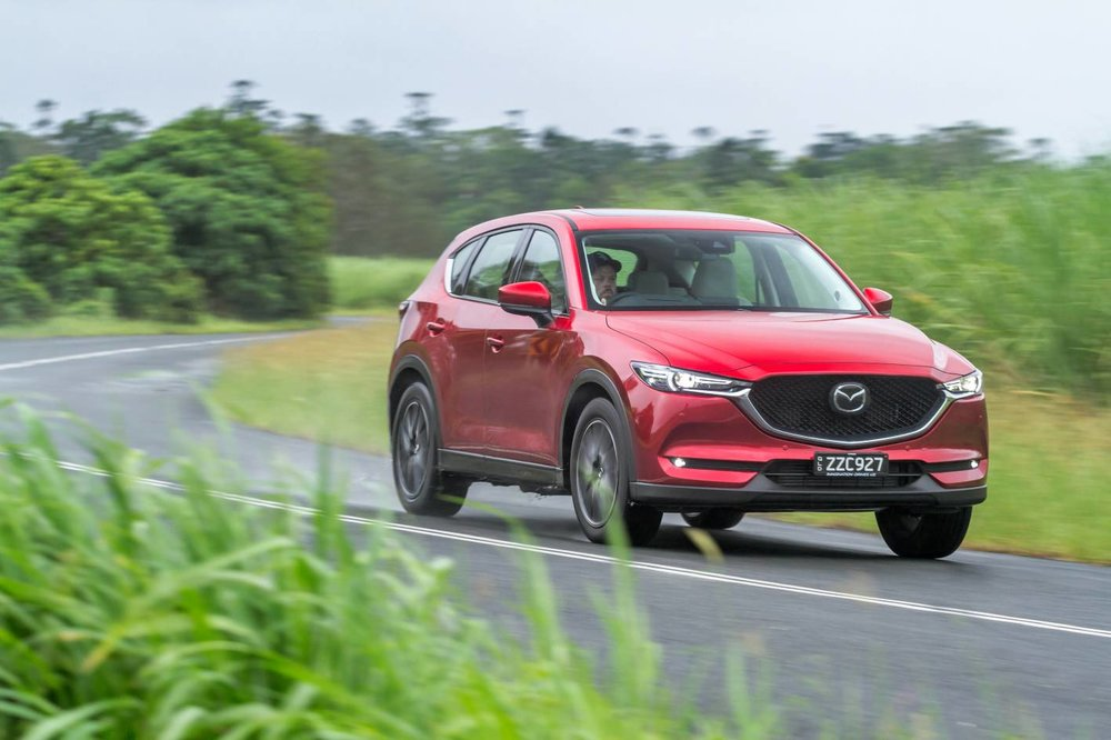 Mazda CX-5 has a conventional auto transmission