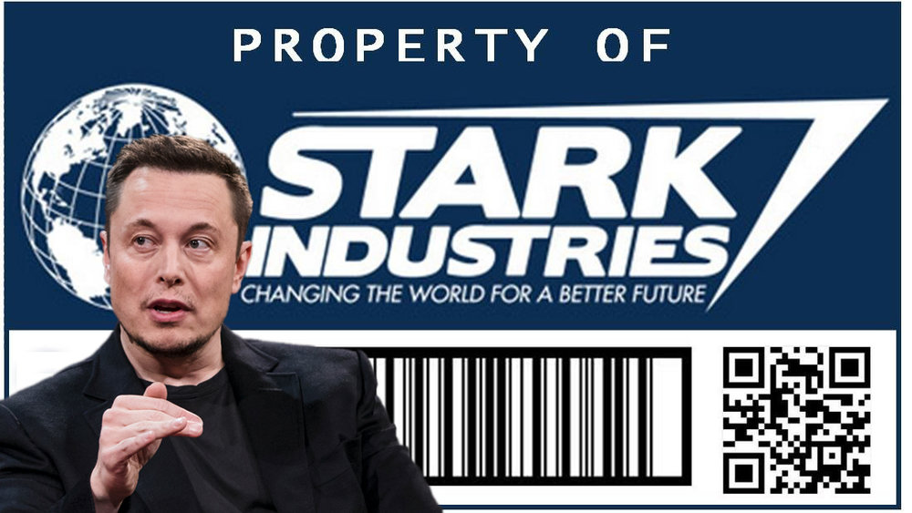 Tesla might as well be Stark Industries - but that name was already taken