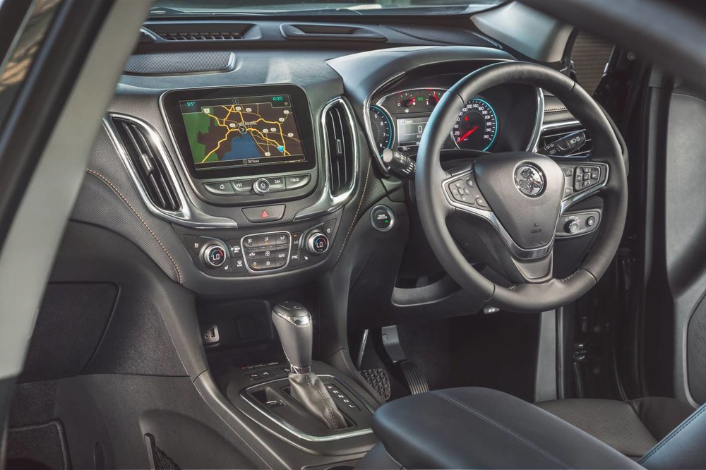 Cabin looks OK at first glance, but doesn't match Tucson or CX-5 on polish - and the charging pad for smartphones doesn't accommodate all. Nor can the auto start/stop for the engine be turned off...