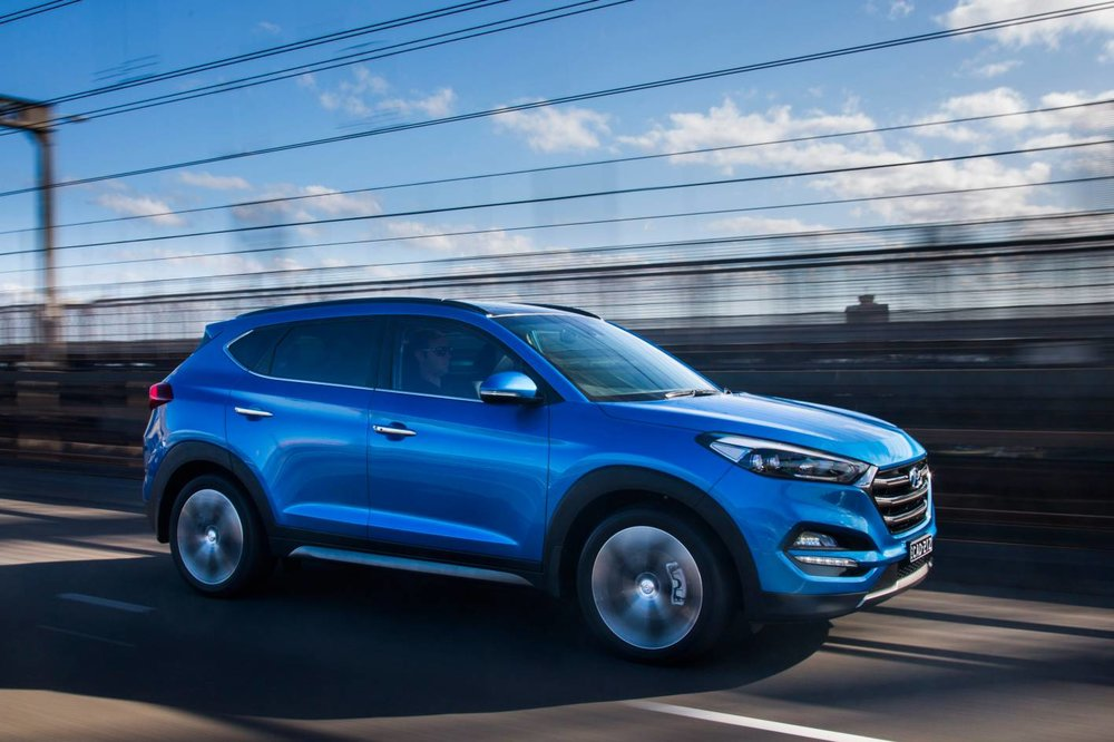 Hyundai 1.6T engine in Tucson (pictured) as well as Kona and i30 SR out-performs the (also excellent) Mazda SKYACTIVE 2.5-litre atmo engine