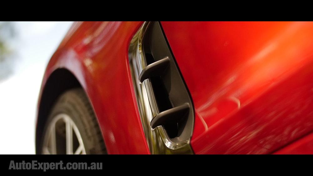 Front brake vents
