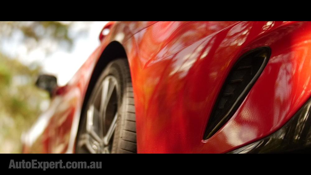 Rear brake vents