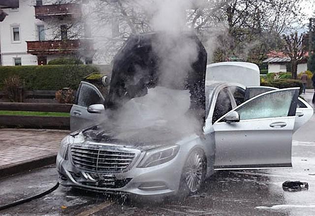 Not a Twelve-34 Benz fire...