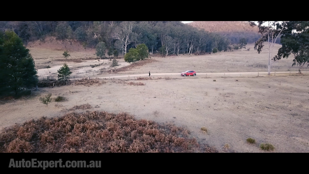 You don't have to drive too far from a typical Australian city to be in this kind of situation...
