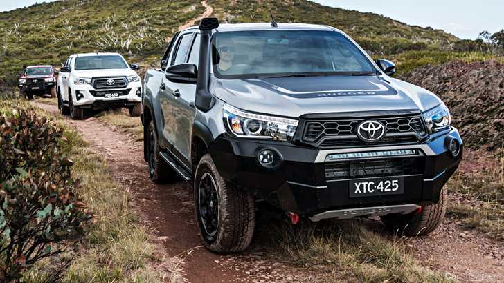 Toyota Hilux remained Australia's most popular vehicle in 2018