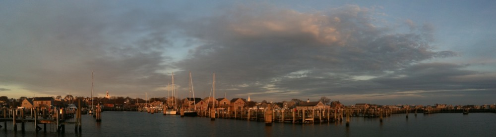 Lovely start to the day - Nantucket in the AM