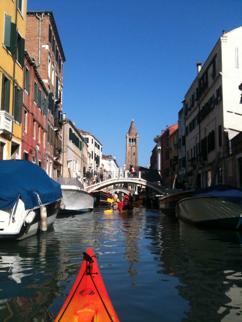 Kayaking Venice - Mobile Photos - Day 4