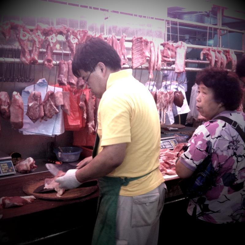 Hong Kong - Open Air Market - Mobile Pics