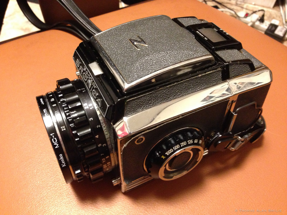 Bronica Zanza Medium Format Camera