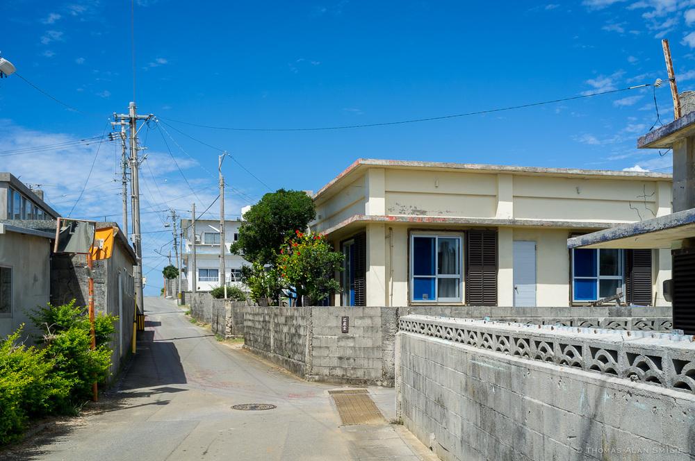 Streets of Tsuken Island. Fuji x100.