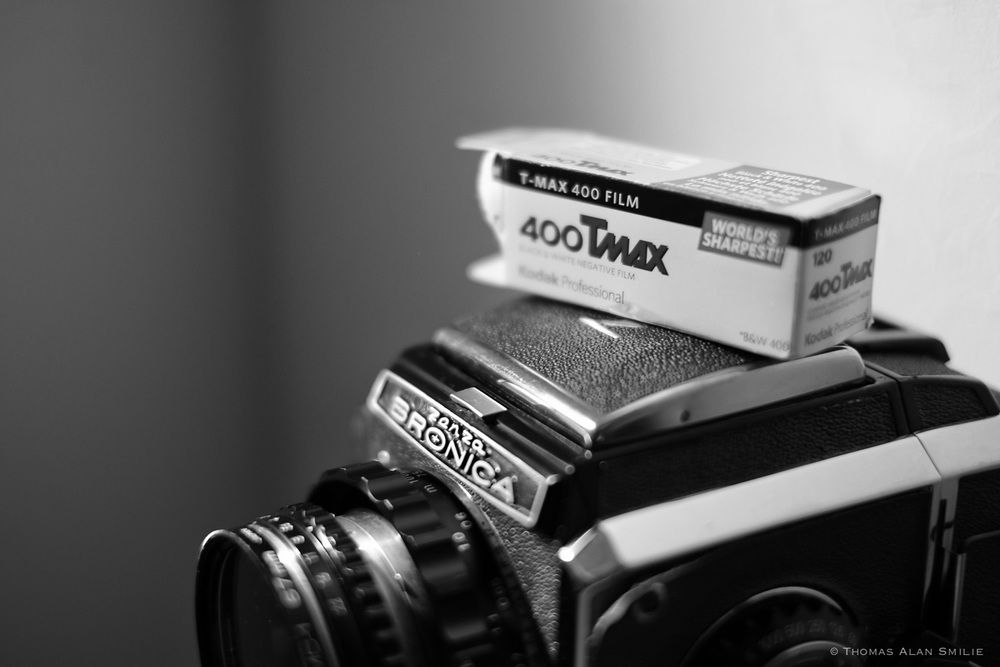 Medium Format Film Camera and Kodak Film