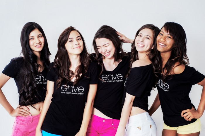 The Girls from Enve Model Management in Okinawa.